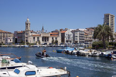Sete - French Riviera - South of France Stock Images
