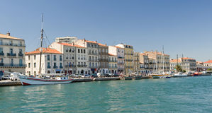 Sete Harbor Stock Photo