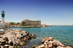 Sete, Herault, France stock photo