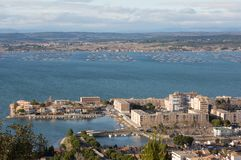 Sete - Herault - France stock photography