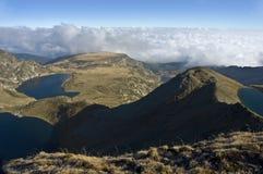 Sete lagos na montanha de Rila Imagem de Stock Royalty Free