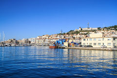 Sete, Languedoc-Roussillon, south of France stock photo