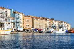Sete, Languedoc-Roussillon, south of France Royalty Free Stock Images