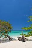 Sete milhas de praia, Negril, Jamaica Fotos de Stock