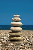 Sete pedras Foto de Stock