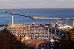 Sete, town in France. Sete is a small industrial town in the south of France stock photos