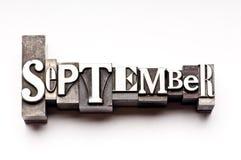 Setembro Foto de Stock