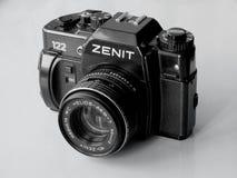 setembro, 22, 2017 Arzamas, zênite velho da câmera de Rússia Foto de Stock