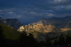 setembro em Wyoming Imagens de Stock Royalty Free