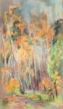 Setembro na madeira Fotografia de Stock Royalty Free