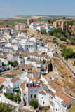 Setenil de las bodegas Stock Photography