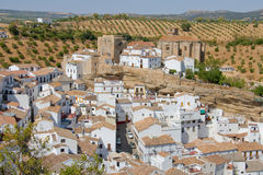 Setenil de las bodegas Royalty Free Stock Photography