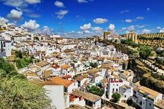Setenil DE las bodegas (Spanje) stock fotografie