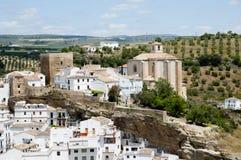 Setenil de las Bodegas - Spanje royalty-vrije stock foto's