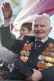 Setenta años desde la victoria en Rusia Fotografía de archivo