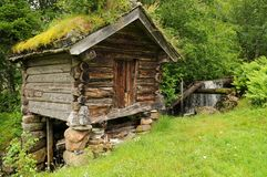 Setesdal mill Stock Images