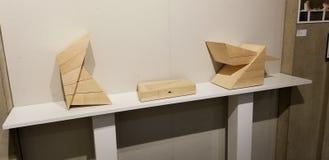 Seth Ehrlich pudełek eksponat obraz stock