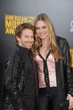 Clare Grant, Seth Green Immagine Stock