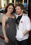 Seth Green and Clare Grant Stock Image