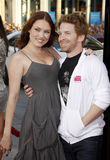 Seth Green and Clare Grant Stock Images