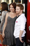 Seth Green and Clare Grant Royalty Free Stock Images