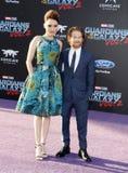 Seth Green och Clare Grant Royaltyfria Foton