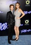 Seth Green und Clare Grant Stockbild