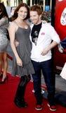 Seth Green und Clare Grant Stockfotos