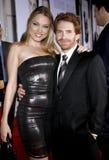 Seth Green und Clare Grant Lizenzfreies Stockbild