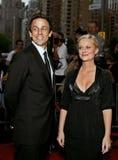Seth Meyers et Amy Poehler Images stock