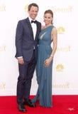 Seth Meyers i Alexi Ashe zdjęcie royalty free