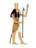 Seth o deus mau ilustração royalty free