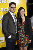 Seth Rogen και Lauren Μίλερ Στοκ Φωτογραφία