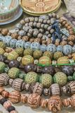 Seth Vintage Beads Femmes de cru \ ?bijoux de s Photo verticale photos stock