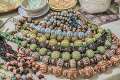 Seth Vintage Beads Femmes de cru  ?bijoux de s images stock