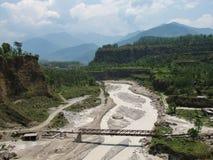 Seti Nadi. River in Nepal. Muddy water Stock Images