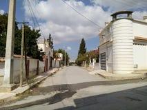 setif di marouani della villa della via dell'Algeria Immagini Stock Libere da Diritti