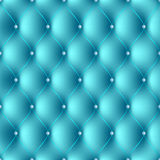 Setka6plus2-1432015green. Texture pattern with blue upholstery with threads and carnations Royalty Free Stock Photos