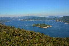 Seto Głębu lądu Morze Zdjęcie Royalty Free