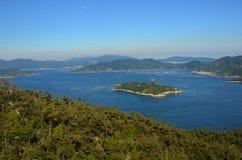Seto Inland Sea Royalty Free Stock Photo