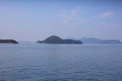Seto Inland Sea em Hiroshima fotos de stock