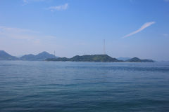 Seto Inland Sea em japão foto de stock royalty free