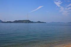 Seto Inland Sea em japão fotos de stock royalty free