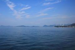 Seto Inland Sea em japão fotografia de stock royalty free