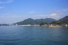 Seto Inland Sea em japão imagens de stock royalty free