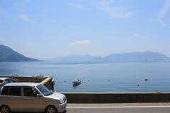 Seto Inland Sea em japão fotografia de stock