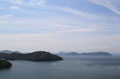 Seto Inland Sea, Japão imagens de stock