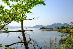 Seto inland sea near Hiroshima, Japan Royalty Free Stock Images