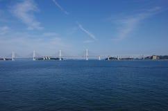 Seto Ohashi Bridge. Over Seto Inland Sea Royalty Free Stock Photography