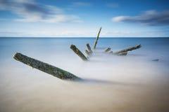 Seton Sands Shipwreck royalty-vrije stock afbeeldingen